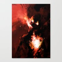 Hate Canvas Print
