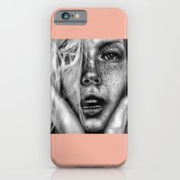 iPhone & iPod Case featuring + FRECKLES + by Sandra Jawad