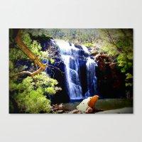 McKenzie Falls Canvas Print