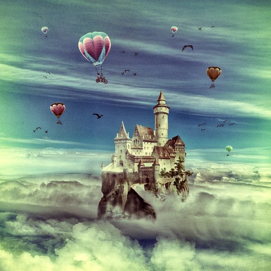 Laputa - Castle in the Sky Art Print
