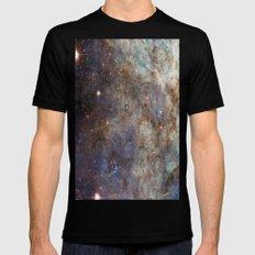 Tarantula Nebula SMALL Mens Fitted Tee Black