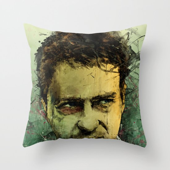 Schizo - Edward Norton Throw Pillow