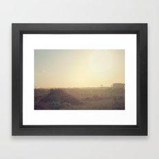 The Cape Framed Art Print