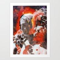 Chromo Madonna Art Print