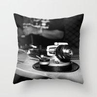 Wheelz  Throw Pillow