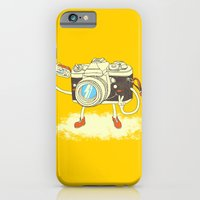 iPhone Cases featuring Self capture by Steven Toang