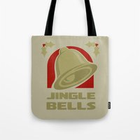 Jingle Bell - Gold Tote Bag