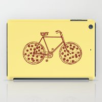 Bicycle With Pepperoni P… iPad Case