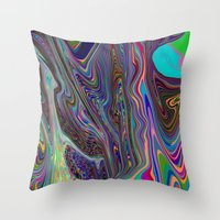 Tripping Throw Pillow