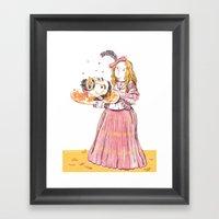 Salome Framed Art Print