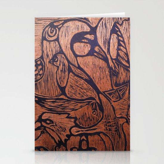 bird      Stationery Card