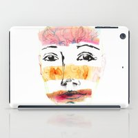 Head Shot #3 iPad Case