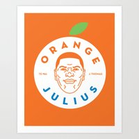Orange Julius Art Print
