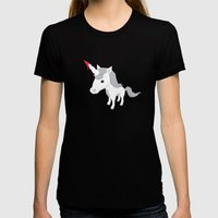 Accidental Legends: Unic… Womens Fitted Tee Black SMALL