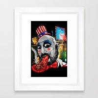 Killer Circus Framed Art Print