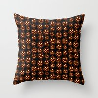 Happy Jacks Throw Pillow