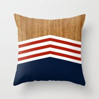Vintage Rower Ver. 3 Throw Pillow