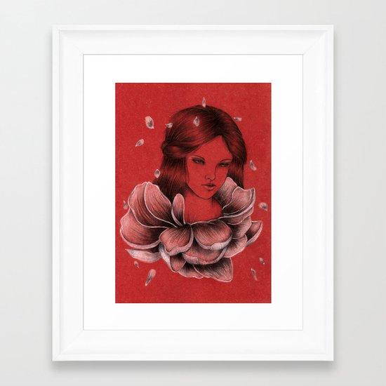 Peony III Framed Art Print