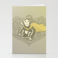 Fearless Creature: Chimpy Stationery Cards