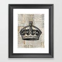 Crown II Framed Art Print
