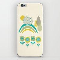 Cloud Drops Rainbow iPhone & iPod Skin