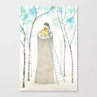 A different Rapunzel Canvas Print