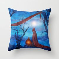 Tales of Halloween IV Throw Pillow