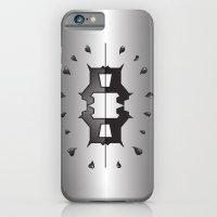 puppy love ink blot (Rorschach) iPhone 6 Slim Case