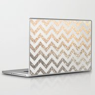 GOLD & SILVER  Laptop & iPad Skin