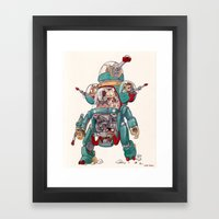 The Tactical Scout Walke… Framed Art Print
