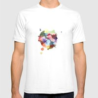 Whenever You're Near Mens Fitted Tee White SMALL