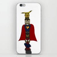 POP -TOTEM iPhone & iPod Skin
