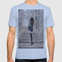 Ghost Mens Fitted Tee Athletic Blue SMALL
