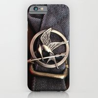 iPhone & iPod Case featuring Mockingjay by AndyGD