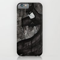 iPhone & iPod Case featuring Black Bat by Sarah J