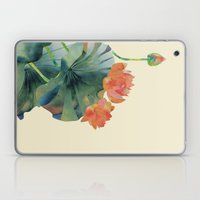 Lotus Bloom Laptop & iPad Skin