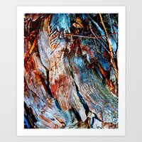 Woodly Art Print
