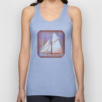 Ghost Sails Unisex Tank Top