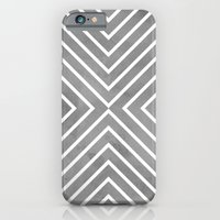 Stripes in Grey iPhone 6 Slim Case