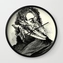 Neoromantic Wall Clock