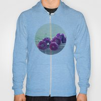 Like Royalty (Purple Ranunculus)  Hoody