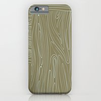 iPhone & iPod Case featuring Woodgrain by Sarah Liddell