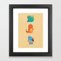 Pokemon Framed Art Print