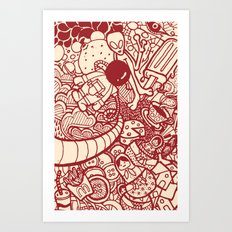 #MoleskineDaily_06 Art Print