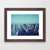 Princes Pier Framed Art Print