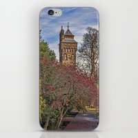 Cardiff Clock Tower. iPhone & iPod Skin