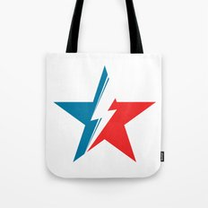 Bowie Star white Tote Bag