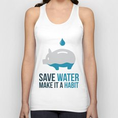 SAVE WATER Unisex Tank Top