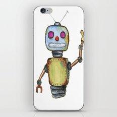 Waving Robot  iPhone & iPod Skin