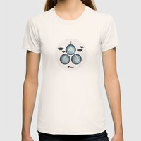 Dream Womens Fitted Tee Natural SMALL